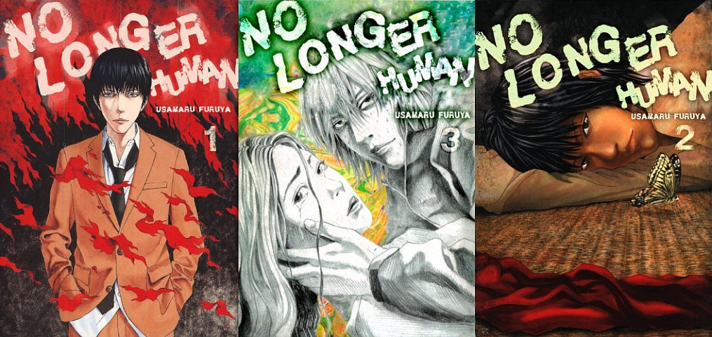 No Longer Human Manga