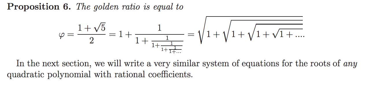 Phi As Continued Fractions And Continued Roots