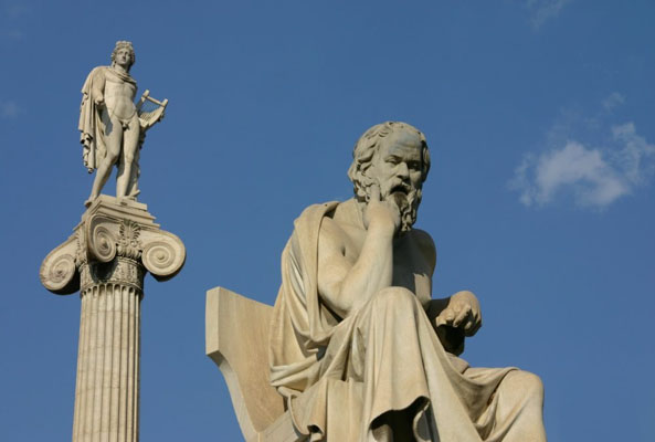 Socrates and Apollo