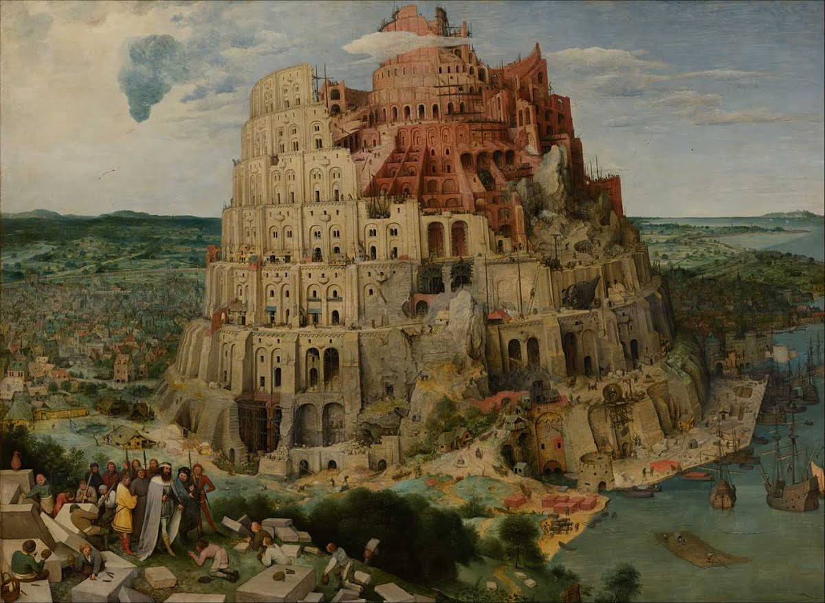 The Brueghel Tower of Babel