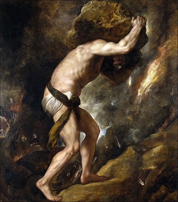 Here, Sisyphus, Carry This Rock